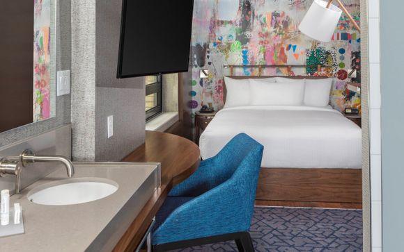 Poussez les portes de l'hôtel SpringHill Suites New York Manhattan/Times Square Sud