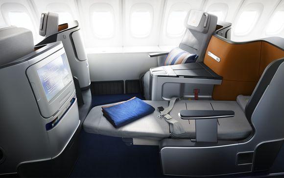 Envolez-vous en classe affaires avec la compagnie Lufthansa