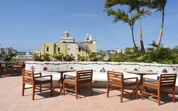Poussez les portes de l'hôtel à La Havane