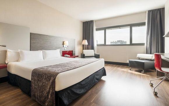 Poussez les portes de l'Hôtel Ilunion Barcelona 4*