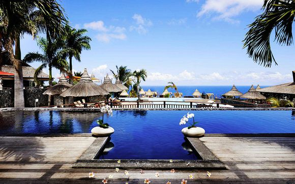 Poussez les portes de l'hôtel Palm Hotel & Spa 5* à la Réunion