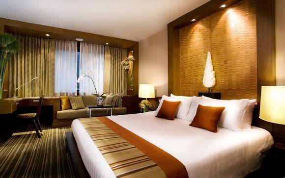 Poussez les portes de l'hôtel Sukosol 5* à Bangkok