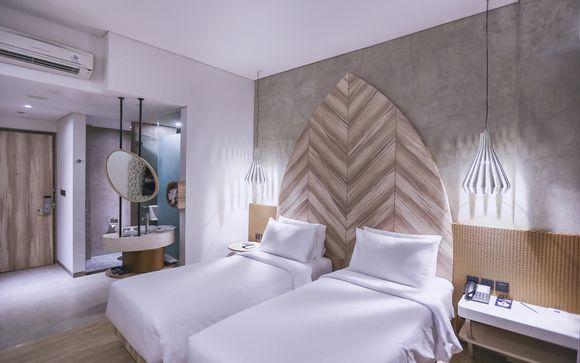 Poussez les portes de l'hôtel Marc Hotel Gili Trawangan 4* à Gili Trawangan