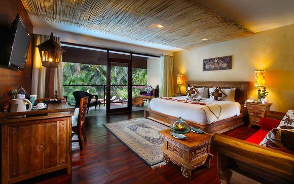 Poussez les portes de l'hôtel  Jungle Retreat by Kupu Barong 5*