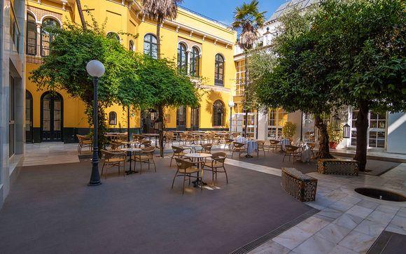 Poussez les portes de l'hôtel San Gil 4*