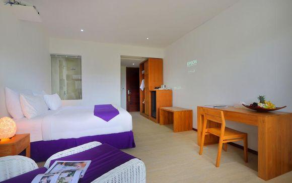 Poussez les portes de l'hôtel Anema Resort Gili Lombok 5*