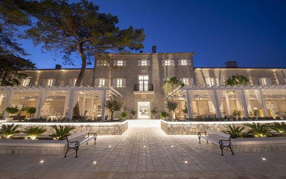 Collection Luxe : Domaine historique surplombant la baie de Kotor