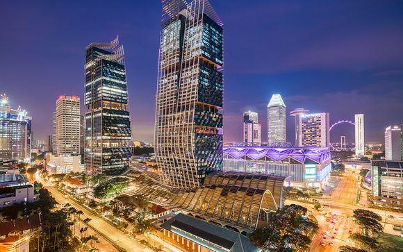Votre séjour de 3 nuits possible à Singapour