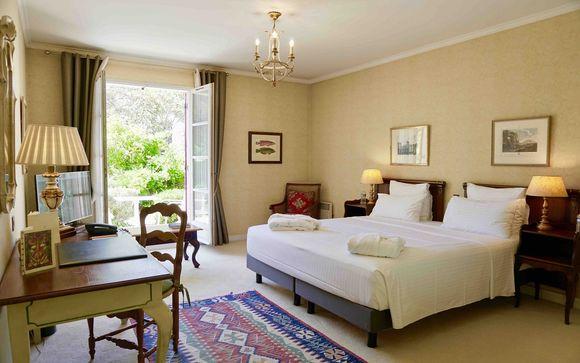Détendez-vous dans votre chambre Classique avec Terrasse...