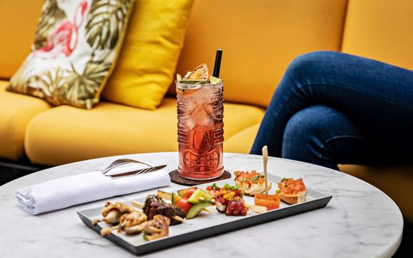 Commencez en beauté avec un cocktail...