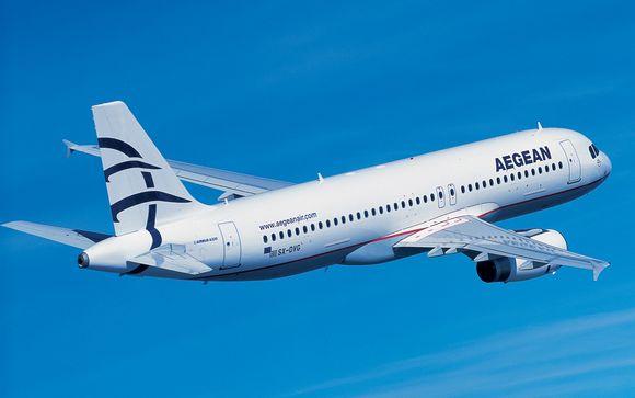 Envolez-vous avec la compagnie Aegean Airlines