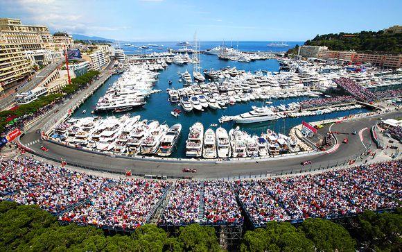 Grand Prix de Formule 1 de Monaco et hôtels au choix en 4*