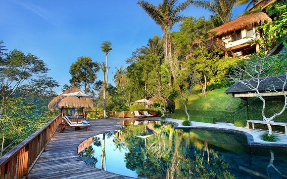 Votre extension à l'hôtel Nandini Bali in the Jungle Ubud 5*