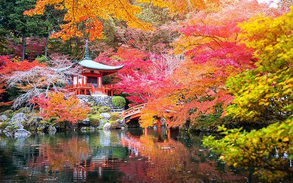Combiné 4* à Tokyo et Kyoto avec Emirates