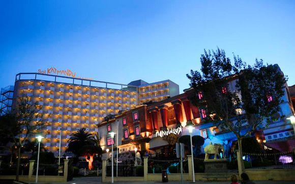 Poussez les portes de l'hôtel Sol Katmandu Park & Resort 4*