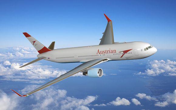Offrez-vous le luxe de la classe Affaires avec Austrian Airways