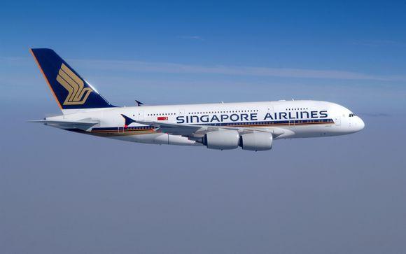 Envolez-vous en classe Premium Economy ou Affaires avec Singapore Airlines