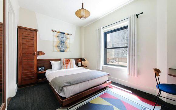 Poussez les portes de l'hôtel Freehand Chicago 4*