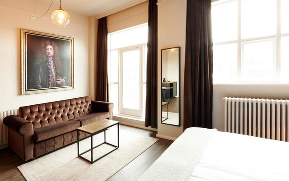 Poussez les portes de l'hôtel Fosshotel Baron à Reykjavic