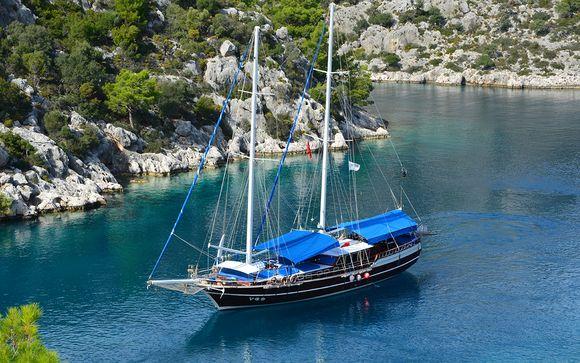 Croisière découverte des îles grecques en goélette