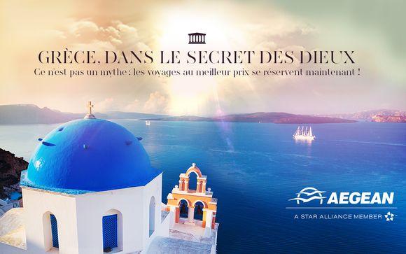 Le meilleur de la Grèce avec Aegean Airlines