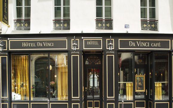 Poussez les portes de l'hôtel Da Vinci 4*