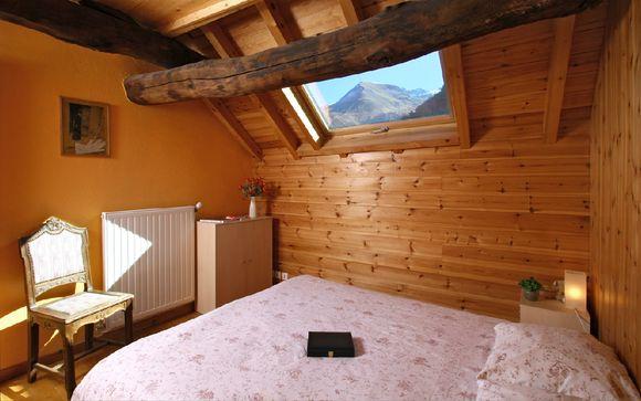 Le Chalet Maison de montagne Les Copains, 12 personnes
