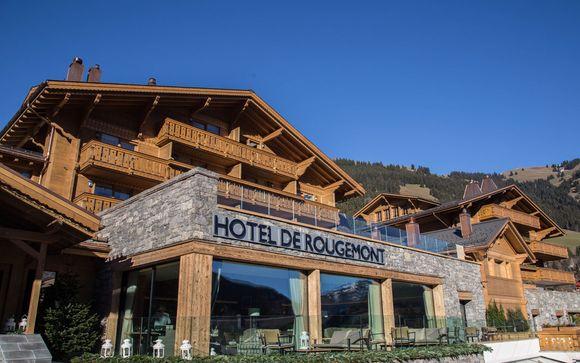 Poussez les portes de l'hôtel de Rougemont 4*