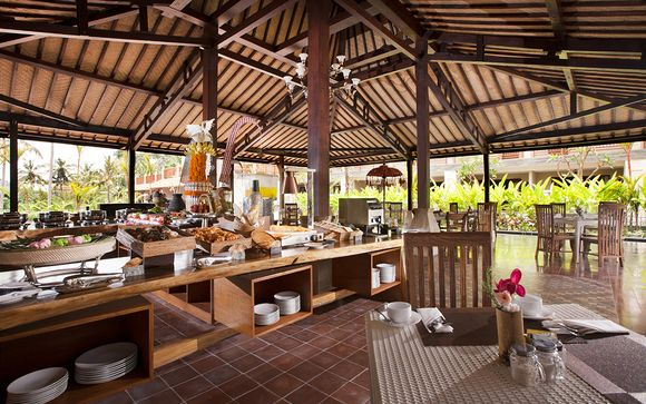 Poussez les portes de l'hôtel Best Western Premier Agung 4* à Ubud