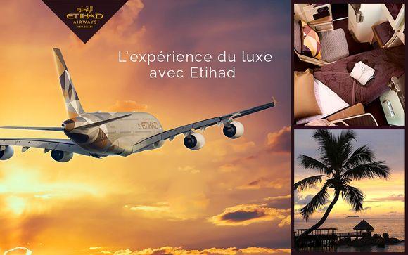 Une autre dimension du luxe avec Etihad Airways