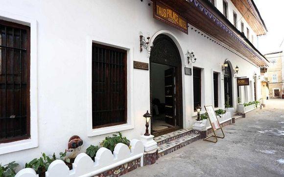 Votre pré-extension à l'Hôtel Tausi Palace
