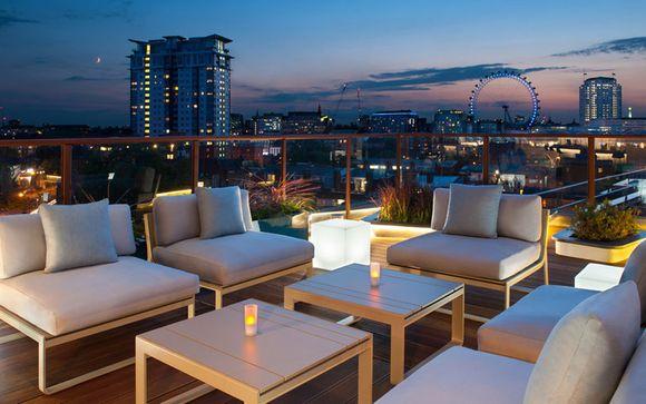 Hôtel urbain et cosy avec rooftop