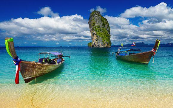 Sur les plus belles plages du pays du sourire