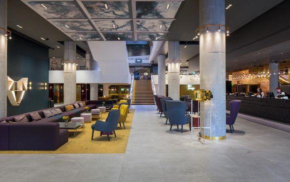 Poussez les portes de l'hôtel Sokos Hotel Presidentti 4*à Helsinki (si vous choisissez l'offre 2)