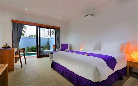 Poussez les portes de l'hôtel Anema Gili Lombok Resort 5* à Lombok