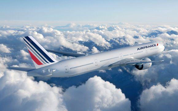 Envolez-vous en cabines Premium Economy ou Business avec Air France