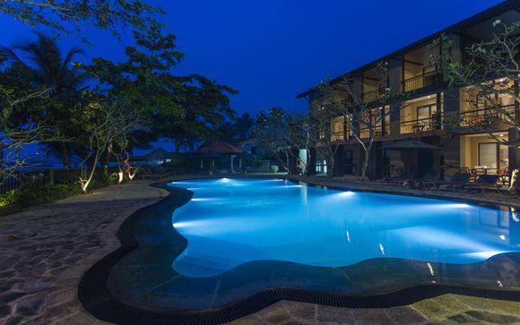 Poussez les portes de l'hôtel Earl's Reef Beruwala 4*
