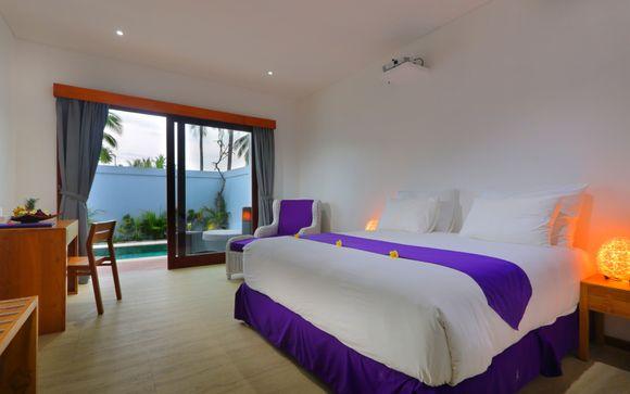 Poussez les portes de l'hôtel Anema Resort Gili Lombok 4* à Lombok (si vous choisissez l'offre 2)