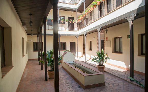 Poussez les portes de l'hôtel La Cartuja Suites Sevilla 4*