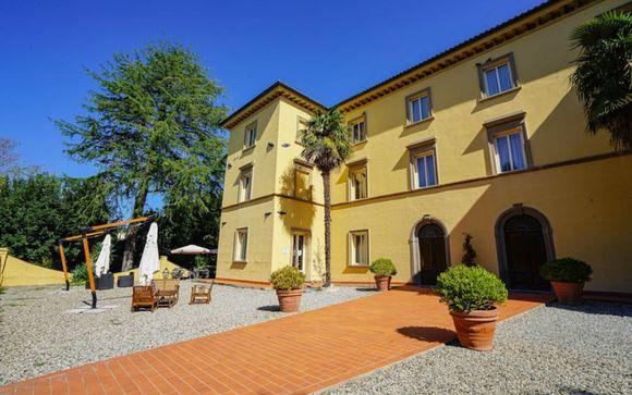 Poussez les portes de l'hôtel Antico Borgo San Martino à Riparbella