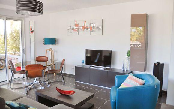 Appartement 1 chambre jusqu'à 4 personnes
