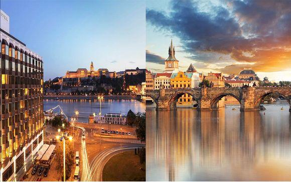 Combiné 5* Hôtel Corinthia Prague et Sofitel Chain Bridge