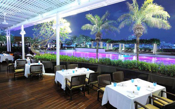 Votre extension possible au Pathumwan Princess Hotel 5*