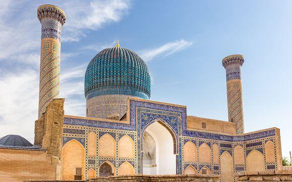 Ouzbekistan Tashkent - Circuit à la découverte de l'Ouzbékistan en 7 ou 9 nuits à partir de 1 19...