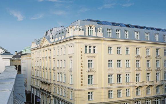 Poussez les portes de votre Steigenberger Hotel Herrenhof Wien 4*