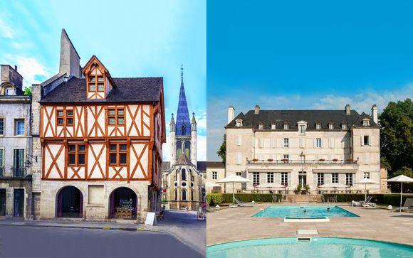 Combiné Oceania Le Jura 4* et Château de Saulon