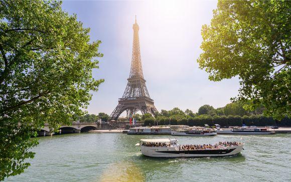 Embarquez pour une croisière sur la Seine...