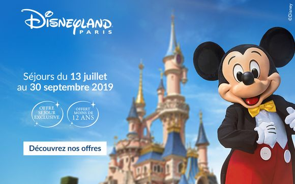 Bienvenue à Disneyland® Paris !