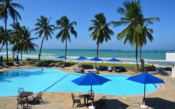 Hôtel Jacaranda Indian Ocean Beach 4* et Safaris