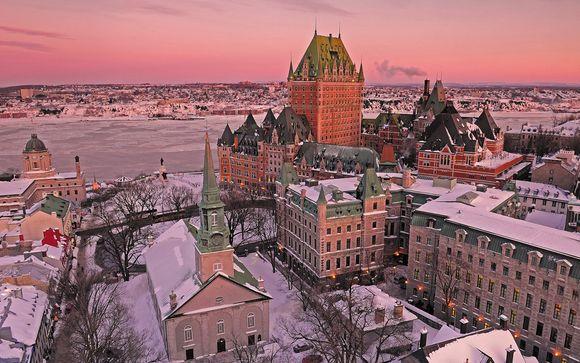 Le Québec sous la neige dans 3 hôtels Fairmont mythiques
